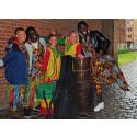 Hela bibblan dansar african joy