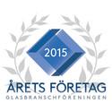 Logotype - Årets Företag i Glasbranschen 2015