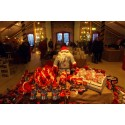 Glas och barnteater på Steninge Slottsgallerias julmarknad