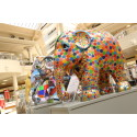 Elephants parade into Gateshead with intu