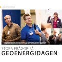 Stora frågor på Geoenergidagen