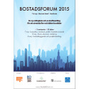 Concent talar på Bostadsforum 2015