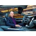 Volvo Cars Robin Page utsedd till årets interiördesigner på 2015 Automotive Interiors Expo