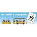 Den 19 september reser vi hållbart i Eskilstuna – gratis bussresor och elbilsprovning