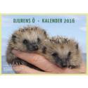 Djurens Ö's kalender för 2016 färdigtryckt!