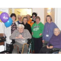£100 raised through Sip for Stroke at Elms Nursing Home