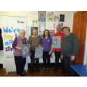 ​Salford stroke survivors express themselves thanks to charity workshops