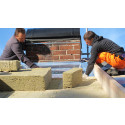 Tilläggsisolering av taket utifrån med PAROC eXtra 360 mm.