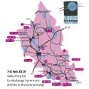 Vinterspår 2015 - från norr till söder: 5-9