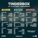​  TINDERBOX ANNOUNCES FULL SCHEDULE OF THE FESTIVAL.