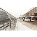 Trafikrapport från Swebus: Bussarna går som vanligt under stormen
