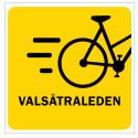 Uppsalas första snabbcykelled invigs