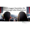 VGR tryggar framtiden för Göteborgs Lilla Filmfestival