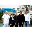 Södra Dalarnas Sparbank finansierar medicinsk utrustning för 1,3 miljoner kronor till Avesta Lasarett