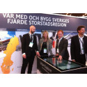 Var med och bygg Sveriges fjärde storstadsregion - på Stockholm Business Arena