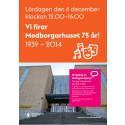 Program Medborgarhuset 75 år