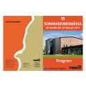 Program - sommarjobbsmässa med info om deltagande företag