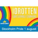 Svensk idrott under Stockholm Pride