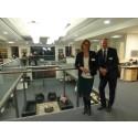 Stort intresse vid invigningen av Matrisens nya lokaler i Västervik