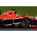 P Zero Orange hard compound on a Marussia F1 car