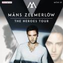 """Måns Zelmerlöw ut i Sverige med """"The Heroes Tour"""""""