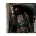 Hagrid. Illustration av Jim Kay