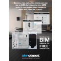 BIMobject ad for the free online monthly newsletter BIM Journal
