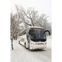 Swebus: 7 procent fler tar bussen hem i jul