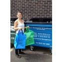 RECYCLING: Zoe Anders, Outreach Officer for Greater Manchester Waste Disposal Authority
