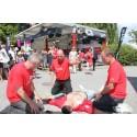Hjärt-Lungfonden räddar liv i Almedalen