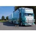 Skåne Truckshow levererade solsken och Skandinaviens finaste lastbilar.