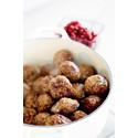 Julköttbullar med smak av kryddpeppar