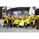 Belper Town Juniors have sights set on victory, thanks to Vision Express