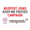 Neopost joins Keep Me Posted campaign