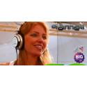 DJ Anneli klar för festivalen Big Day Out