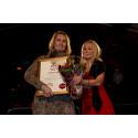 Karin Boyeskolan tilldelas Pysslingen Skolors pris Årets ros