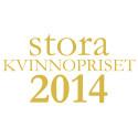 Logotype Stora Kvinnopriset 2014
