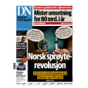 Luer-Jack featured on Front Page of the Major Norwegian Business Newspaper Dagens Næringsliv