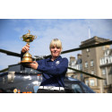 Ryder Cup completes Trophy Tour with dramatic arrival at Gleneagles