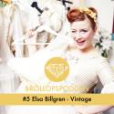 Elsa Billgren pratar bröllop och vintage i Bröllopspodden