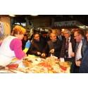 """Visit to """"La Boquería"""" market, in Barcelona, Catalonien"""