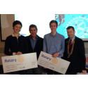 Ungdomar vid Friidrottsgymnasium får stipendier av Rotary