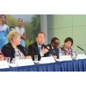 Ban Ki-moon i Oslo lanserte den siste Tusenårsmålsrapporten