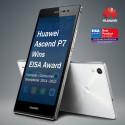 Huawei Ascend P7 utsedd till  'European Consumer Smartphone 2014–2015'