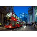 London testar framtidens bussar