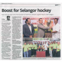 QNET supports Selangor hockey