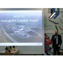 Christoph Quitmann (VD MaxLab IV) talar på invigning av Annehems egenägda fibernät