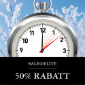 Sale@Elite – 50% rabatt under en dag