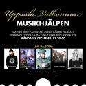 Uppsala välkomnar Musikhjälpen