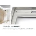 Revolutionerande badrumsbyggnation med unidrain® - Eleganta golvavlopp
